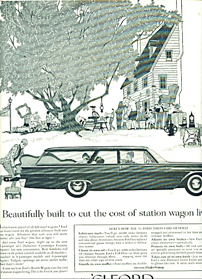 1961 Ford automobile ad (Image1)