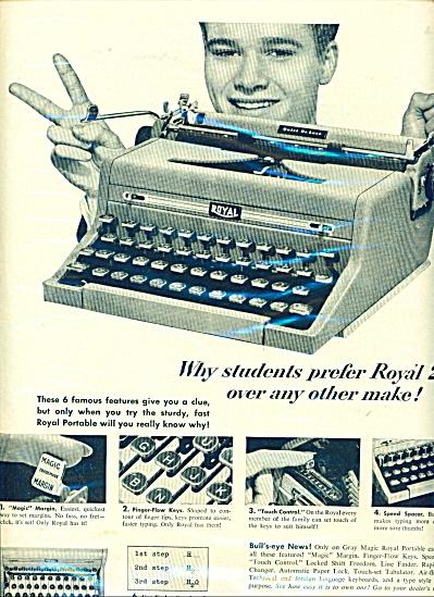 A & P super markets ad - 1950 (Image1)