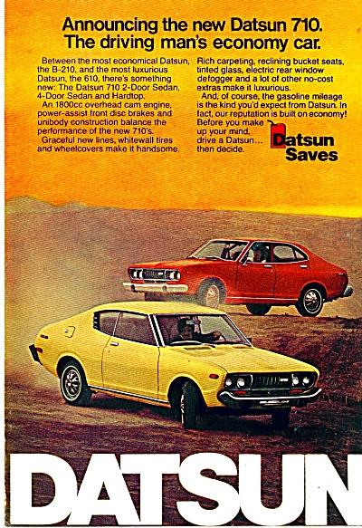Datsun automobile ad 710 610 (Image1)
