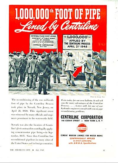 Centriline Corporation ad - 1948 (Image1)