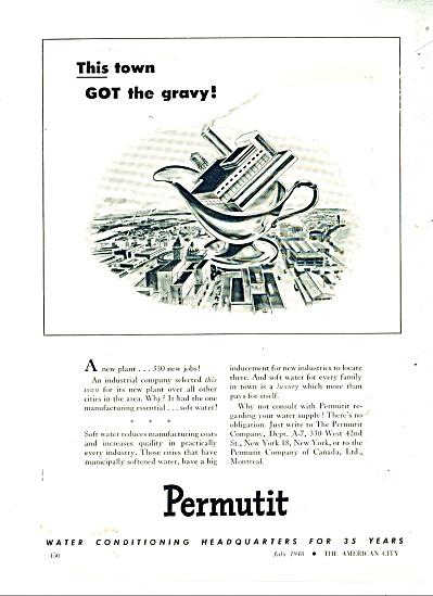 Permutit company ad -  1948 (Image1)
