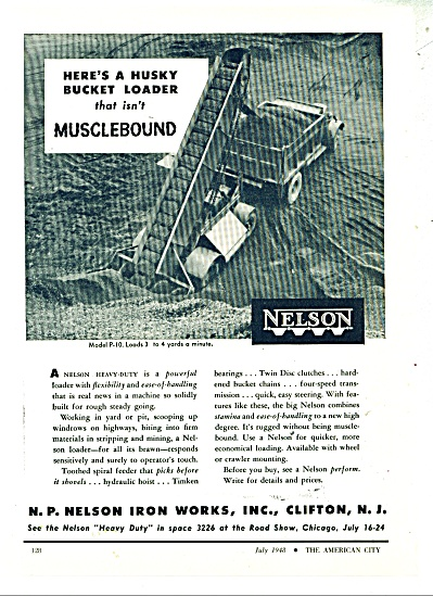 Nelson iron works ad -  1948 (Image1)