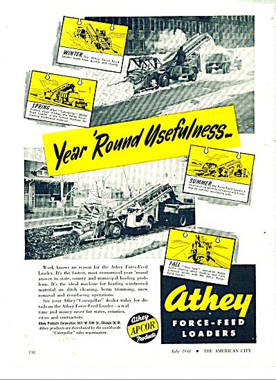 Athey force feed loaders ad - 1948 (Image1)