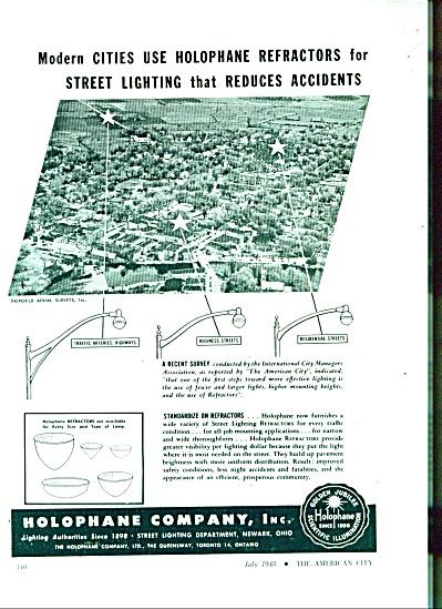 Holophane company, Inc. ad 1948 (Image1)