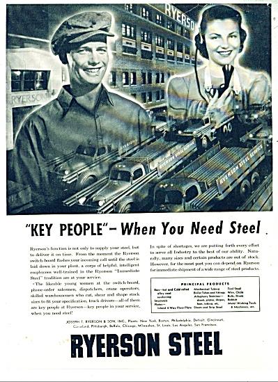 Ryerson Steel co. ad    1948 (Image1)