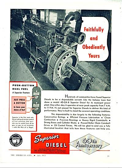 Superior Diesel  ad - 1948 (Image1)