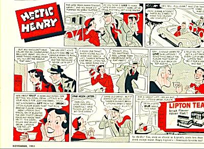 Lipton tea ad - 1951 (Image1)