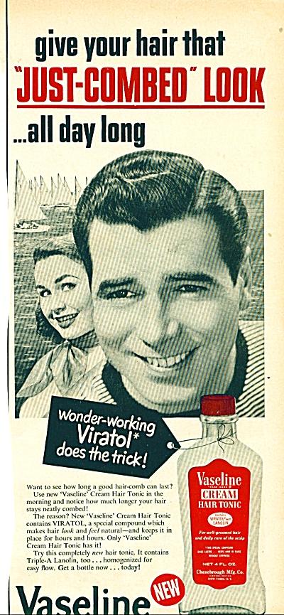 Vaseline creamhair tonic ad (Image1)
