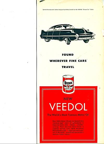 New Veedol motor oil ad (Image1)
