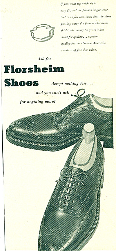 Florsheim shoes ad (Image1)