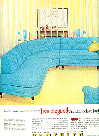 Kroehler  furniture manufacturer ad (Image1)