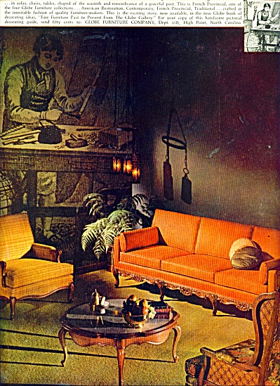 Globe furniture ad (Image1)