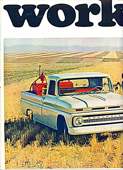 1965 CHEVY Chevrolet PickUP Truck AD 2pg (Image1)
