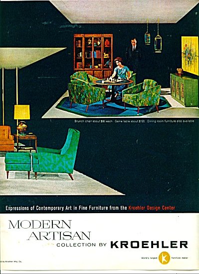 Kroehler    furniture ad (Image1)