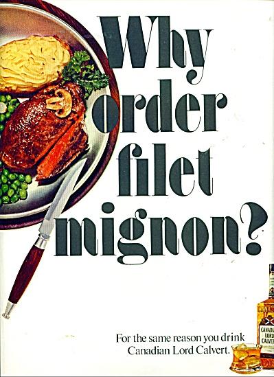 Canadian Lord  Calvert ad (Image1)