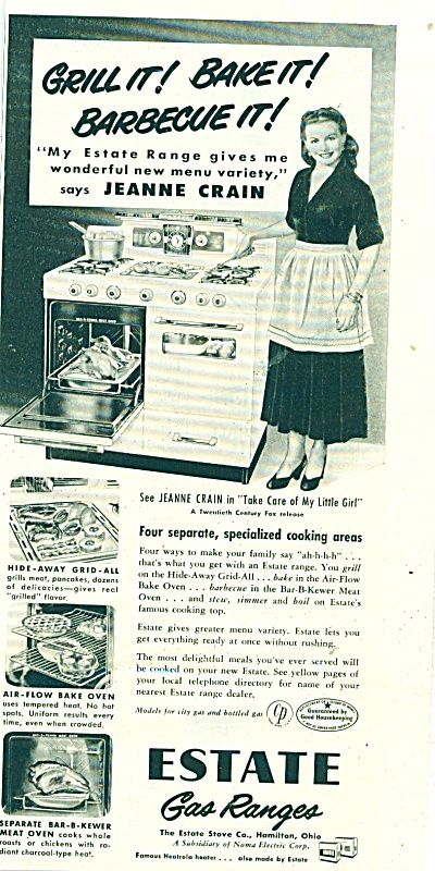 Estate Gas ranges ad (Image1)
