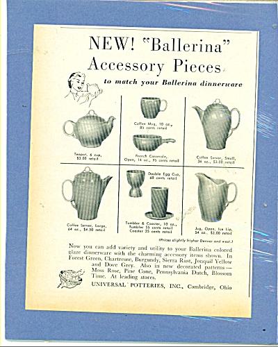 Ballerina Accessory Pieces dinnerware ad - 52 (Image1)