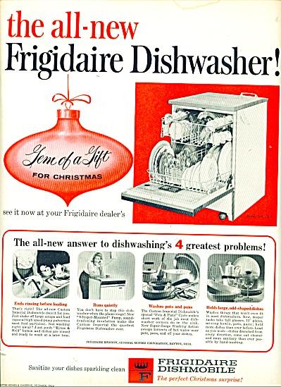 Frigidaire Dishwasher ad - 1954 (Image1)