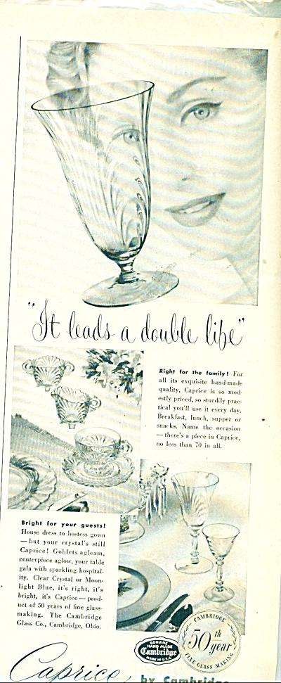 Caprice by Cambridge ad   1951 (Image1)