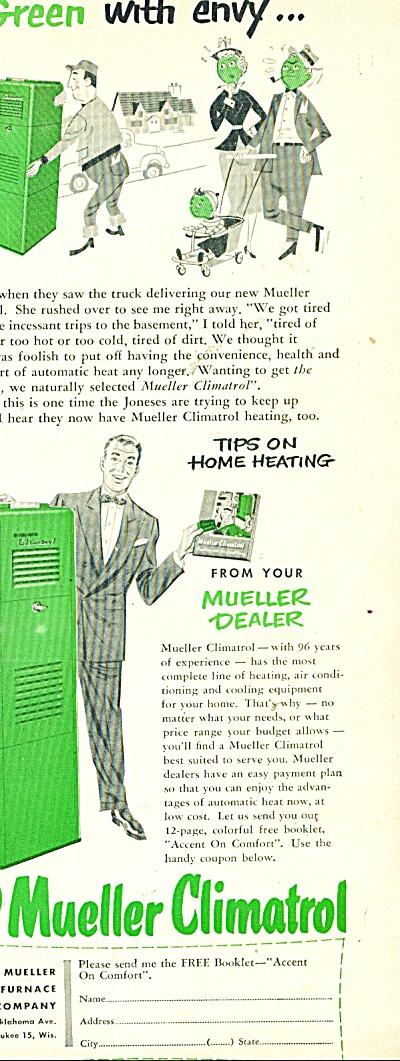 Mueller Climatrol ad 1953 (Image1)