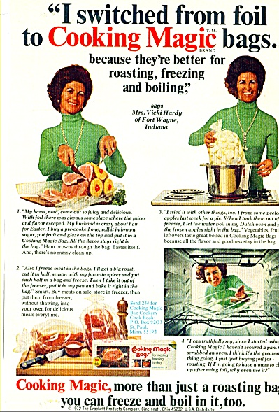 Cooking Magic bags ad (Image1)