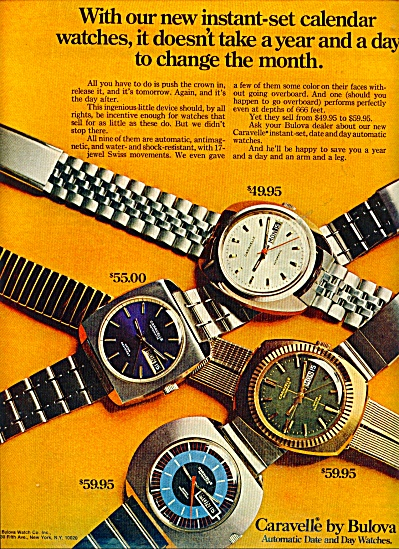 Caravelle by Bulova ad (Image1)