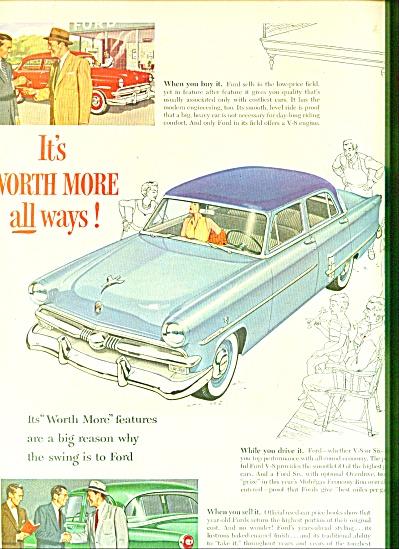 Ford motor car co.  ad V8 CAR (Image1)