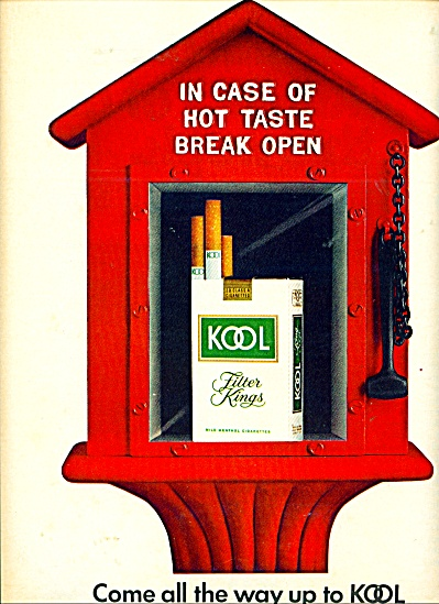 Kool filter Kings ad FIRE ALARM BOX (Image1)