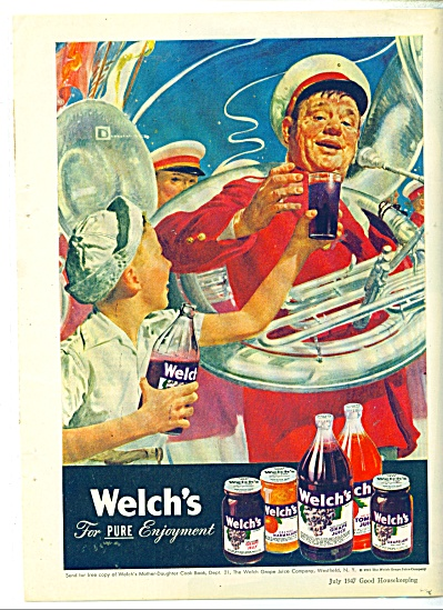 Welch's Jelly flavors  1947 DOUGLAS CROCKWELL (Image1)