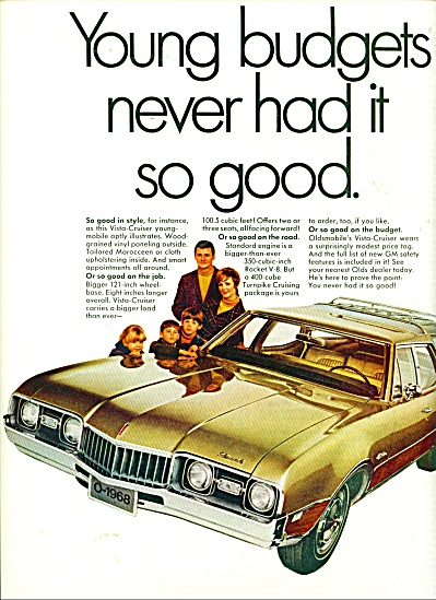 Oldsmobile  mark of excellence ad (Image1)