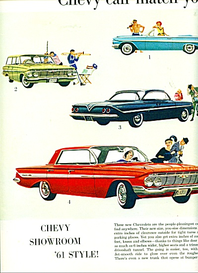 Chevy showroom 61 style ad (Image1)