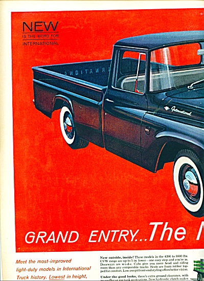 International trucks  ad (Image1)