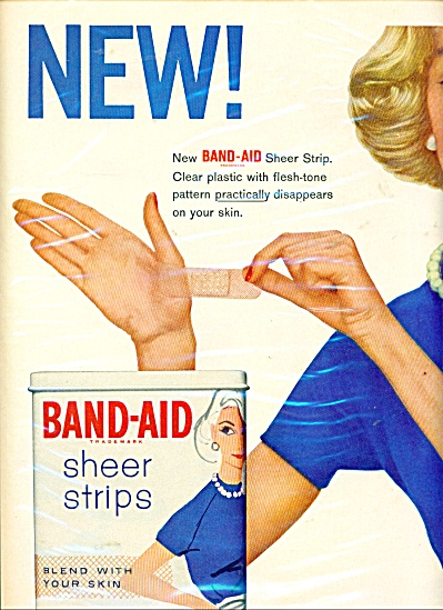 Band aid sheer strips ad (Image1)