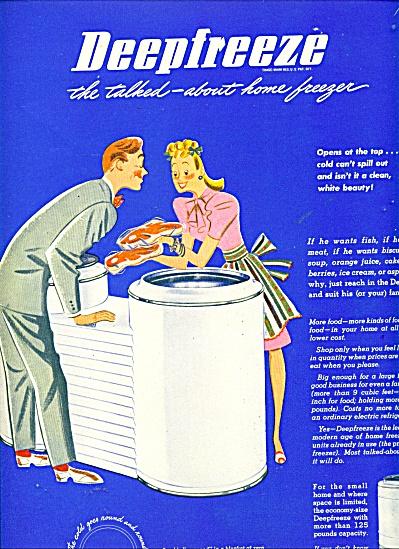 Deepfreeze freezer ad - 1946 (Image1)