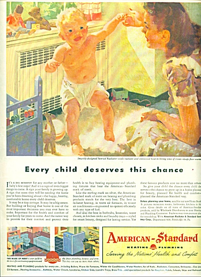 BEAUTIFUL BABY Artwork AMERICAN STANDARD AD (Image1)