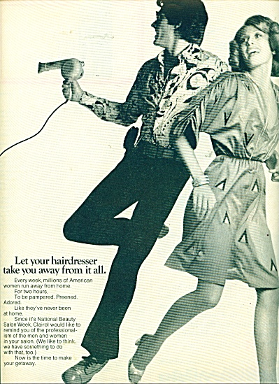 1970's National Beauty CLAIROL ad GROOVY (Image1)