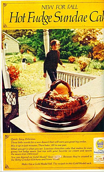Hot Fudge Sundae Cake  ad (Image1)