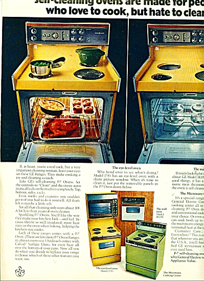 General Electric Ranges ad (Image1)