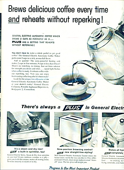 General Electric products ad  - 1958 (Image1)