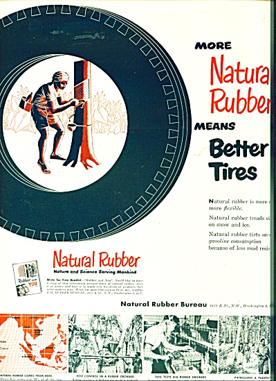 Natural   rubber ad  - 1950 (Image1)