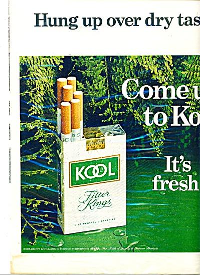 Kool cigarettes  ad   1969 (Image1)