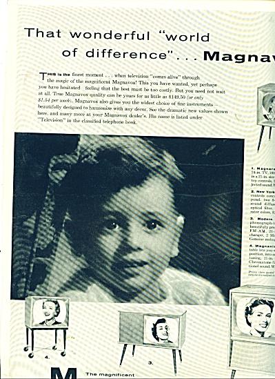 Magnavox Television ad (Image1)