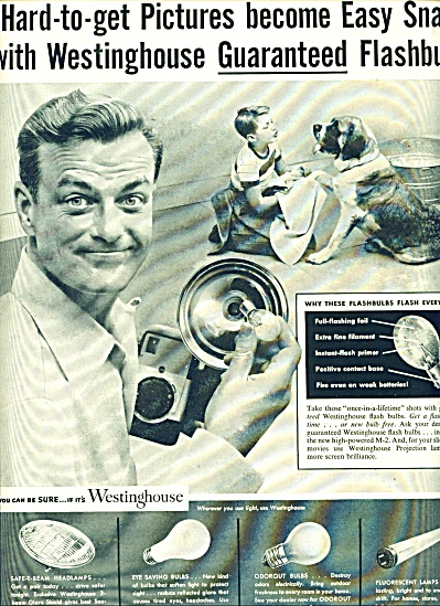 Westinghouse flashbulbs ad (Image1)