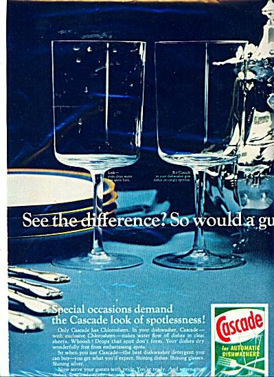Cascade for automatic dishwashers ad (Image1)