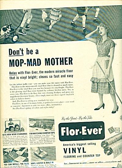 Flor Ever vinyl flooring ad (Image1)
