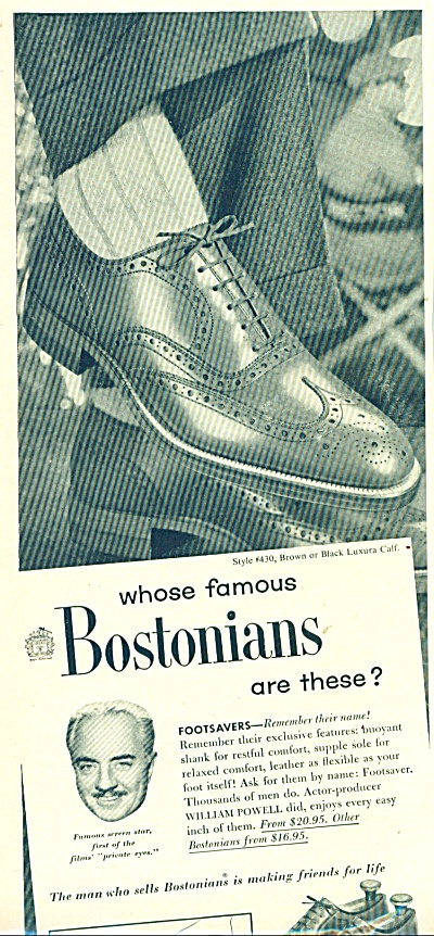 Bostonians shoes ad (Image1)