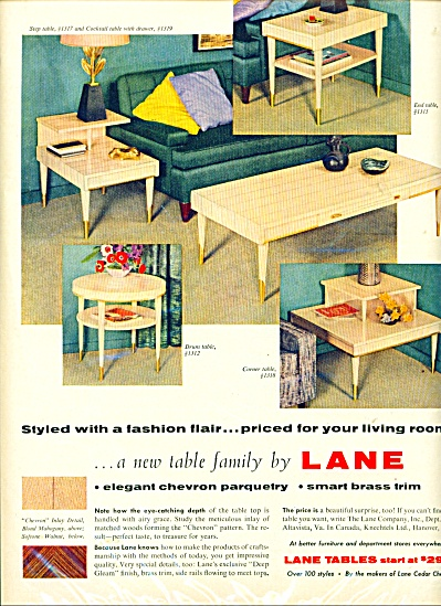 Lane tables ad (Image1)