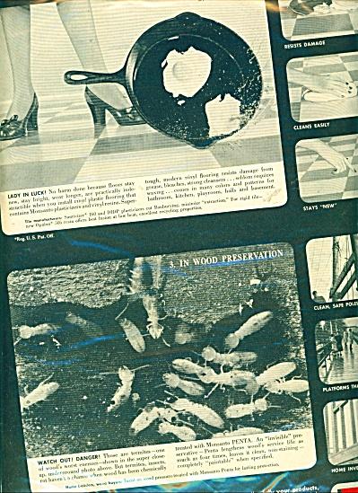Monsanto chemicals- plastics ad - 1950 (Image1)