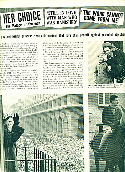 ARTICLE - Royal romance of Princess Margaret (Image1)