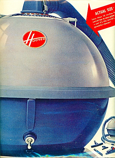 Hoover SPACE EAMES vacuum cleaner ad (Image1)